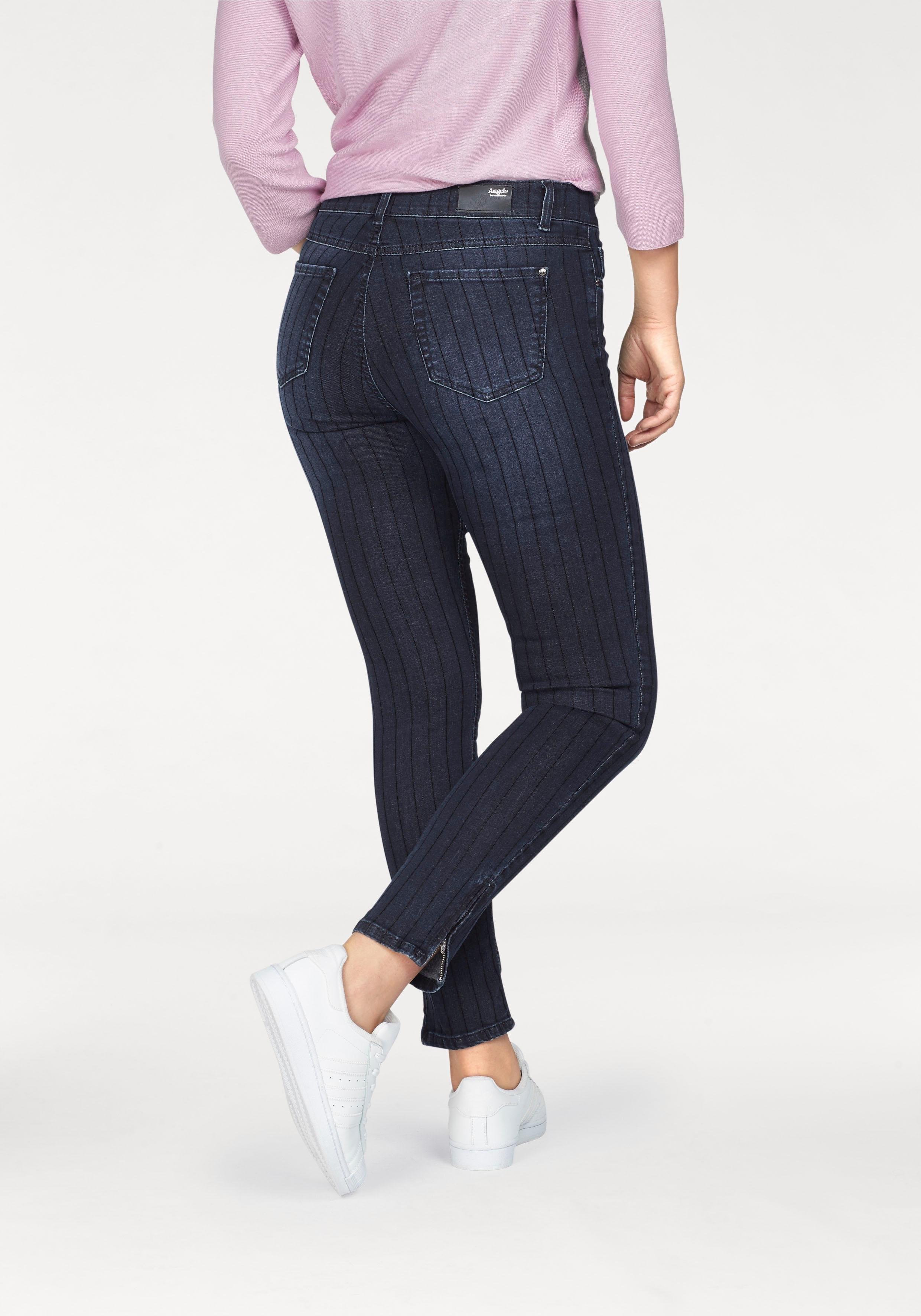 Op zoek naar een Angels skinny fit jeans »Skinny Zip«? Koop online bij OTTO