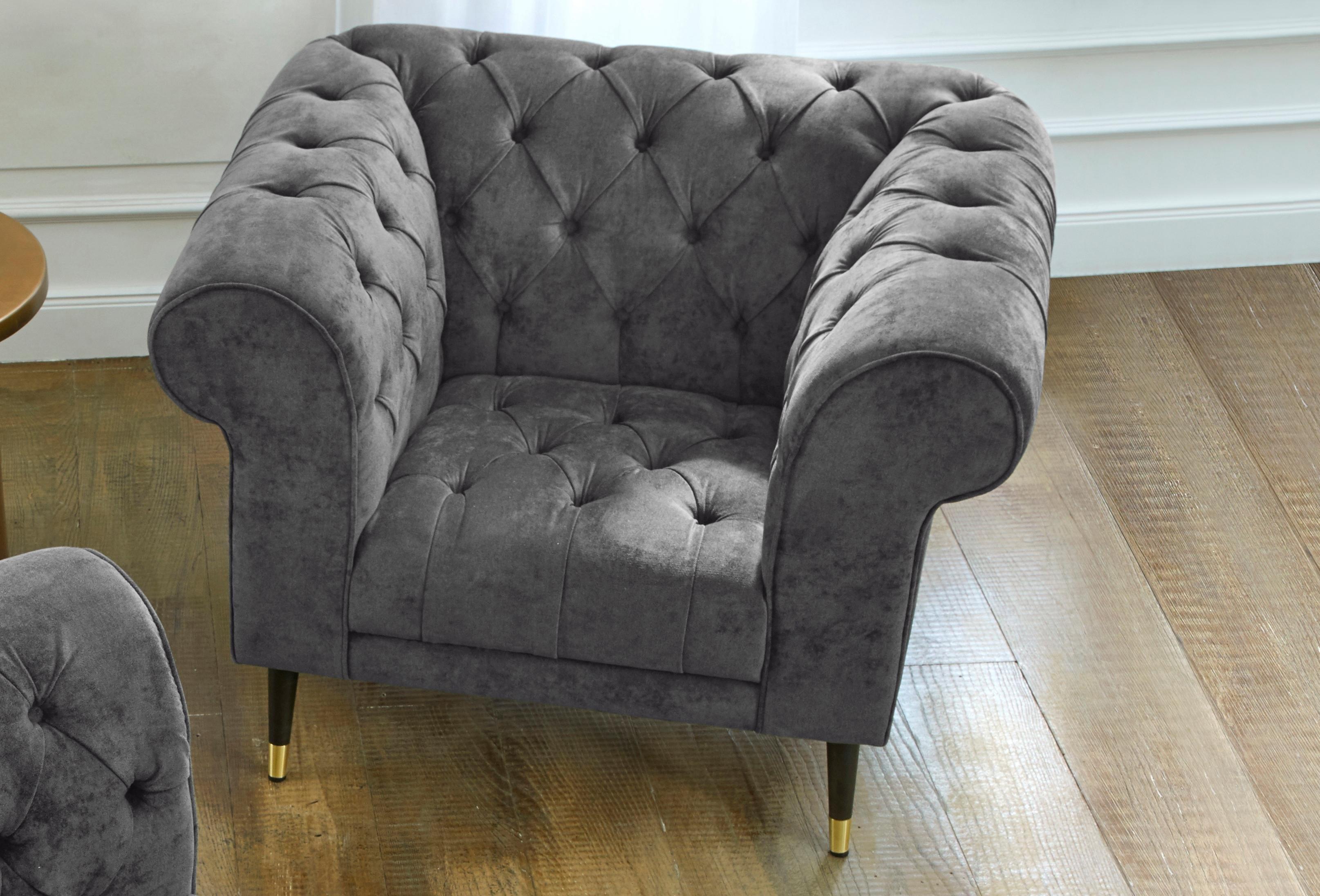 Guido Maria Kretschmer Home&living GMK Home & Living Chesterfield-fauteuil »Tinnum« bestellen: 30 dagen bedenktijd