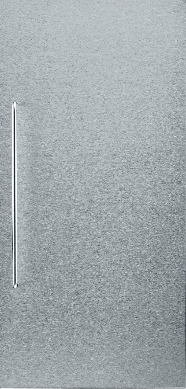 Bosch edelstalen front KFZ40SX0, met handgreep, voor inbouw-koelapparaten, 122 cm nis - verschillende betaalmethodes