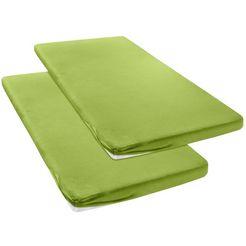 my home hoeslaken jersey voor topmatras op boxsprings groen