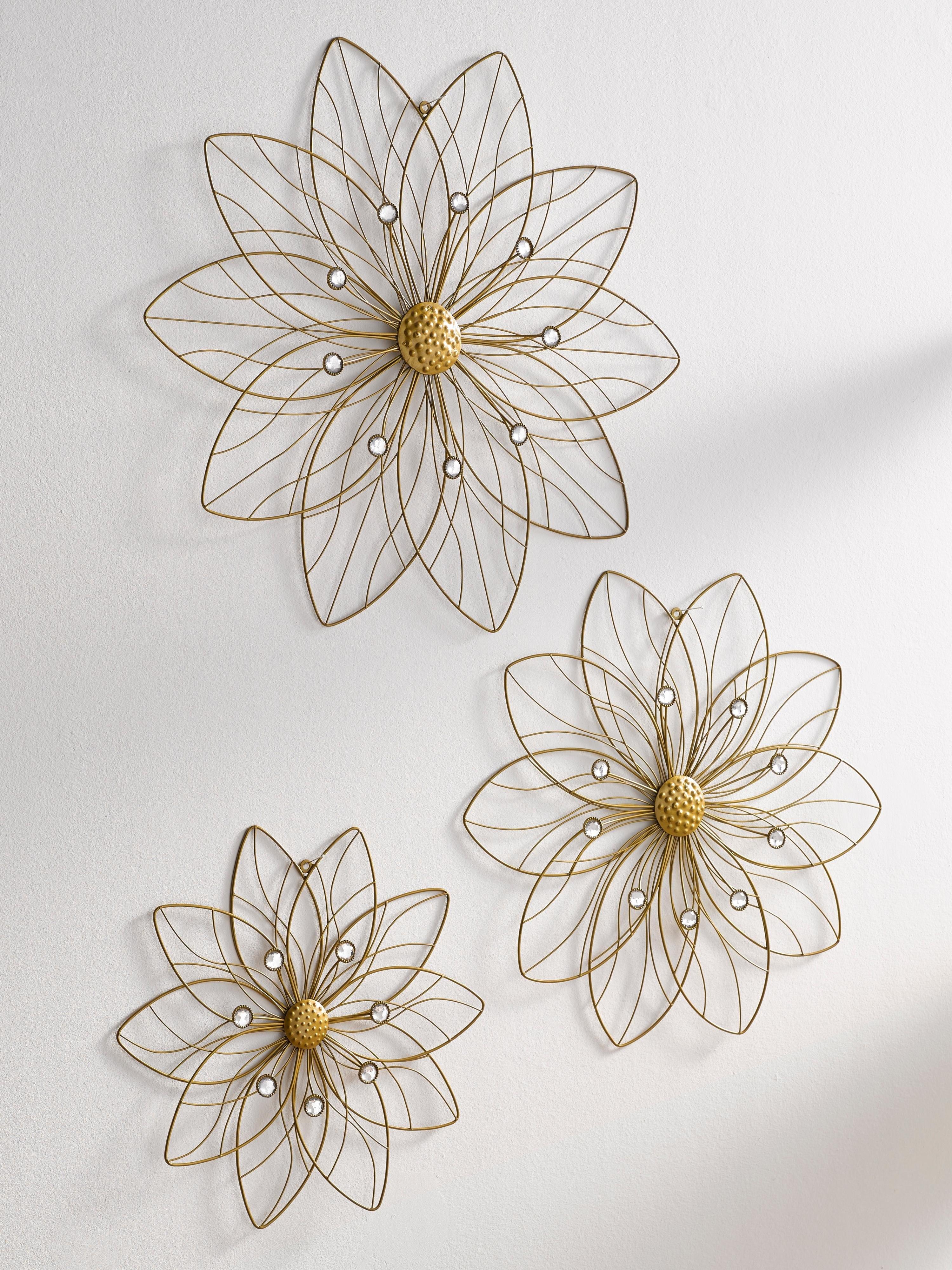 wanddecoratie bloem nu online bestellen otto