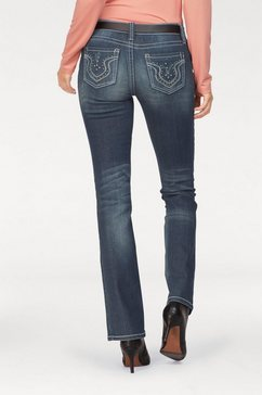 laura scott stretchjeans blauw