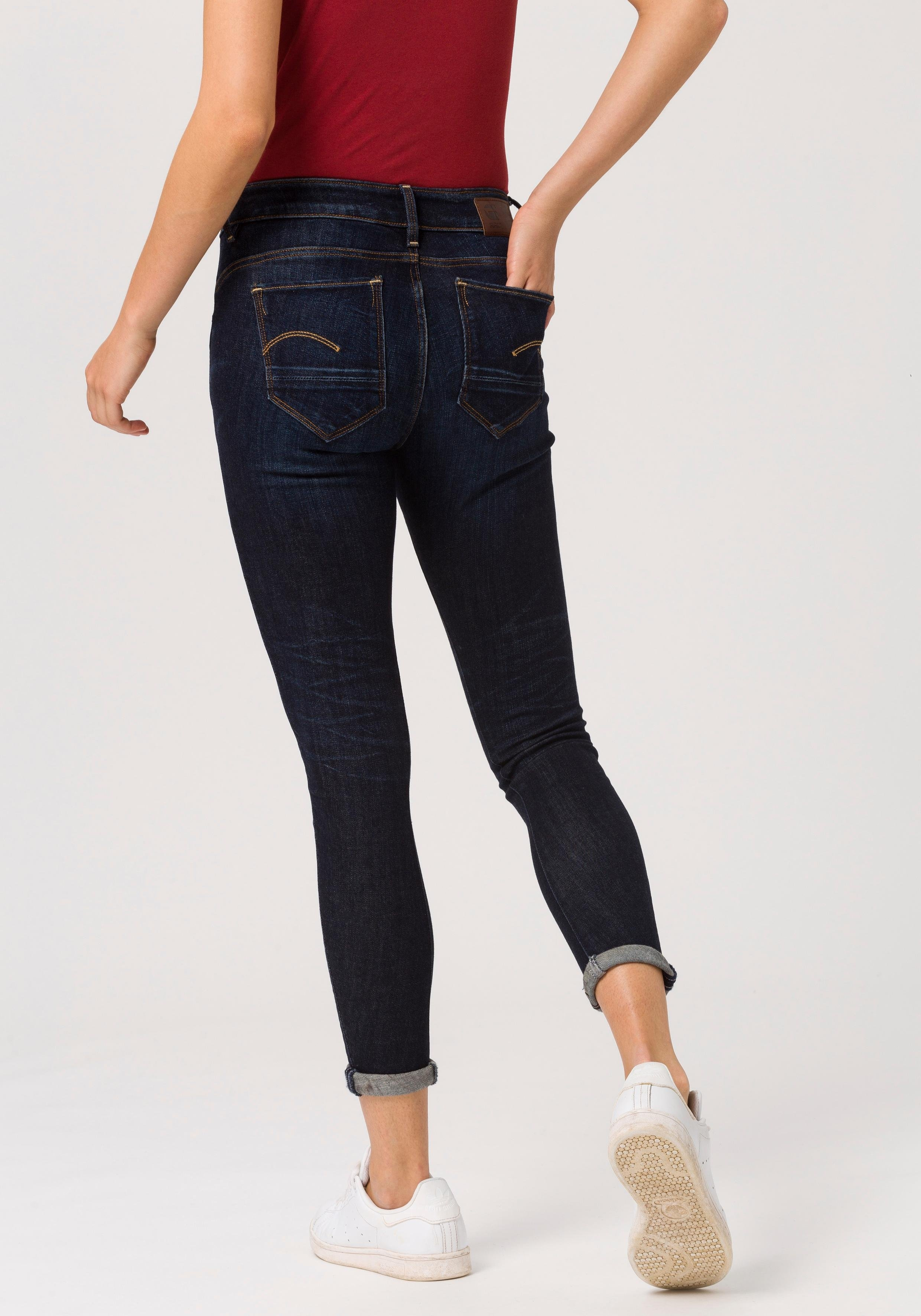 G-star Raw skinny fit jeans »Arc 3D Mid Skinny Wmn« - gratis ruilen op otto.nl