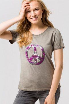coccara t-shirt »irene« groen