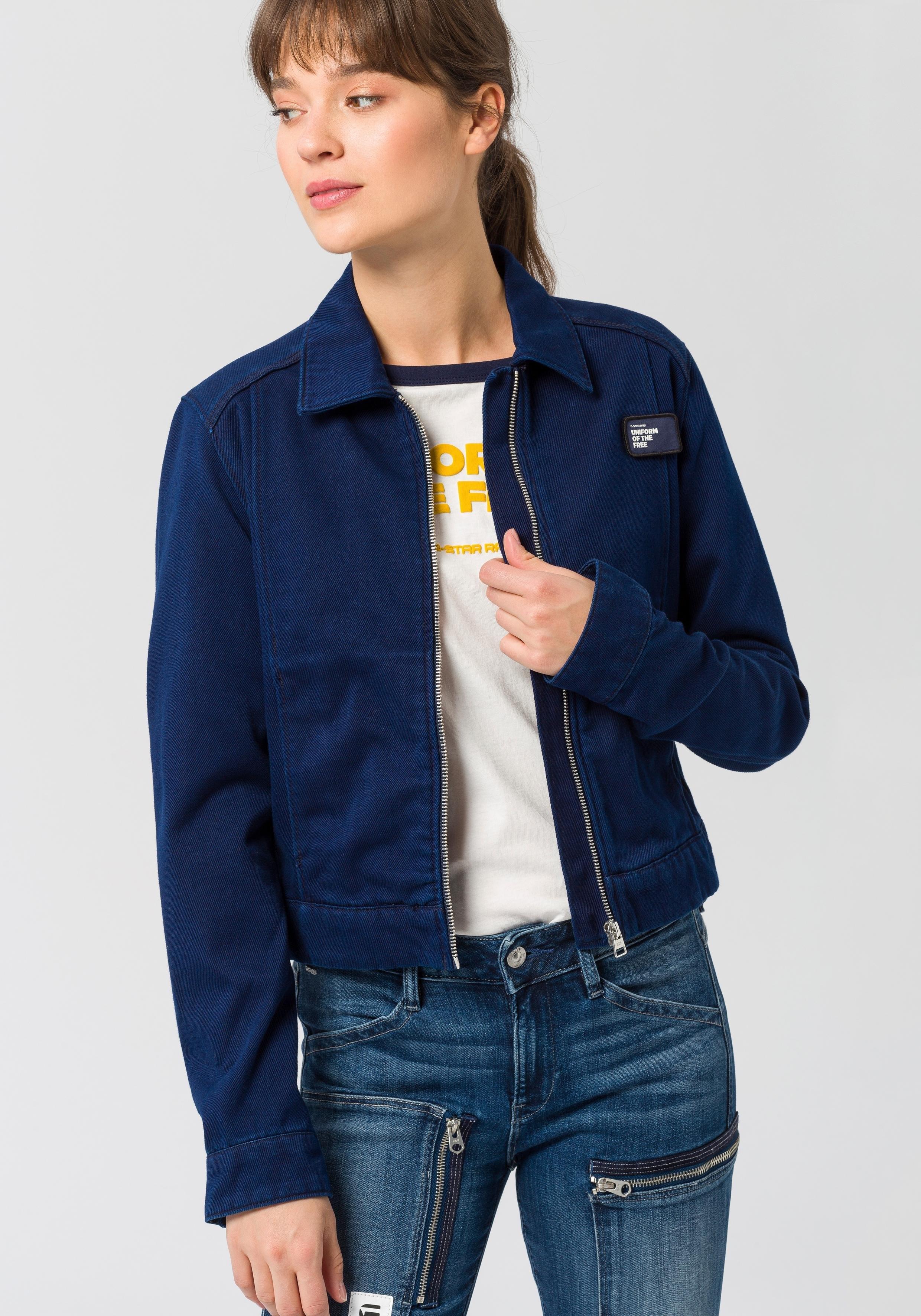 Op zoek naar een G-star Raw blousonjack »Workwear crp jkt wmn«? Koop online bij OTTO