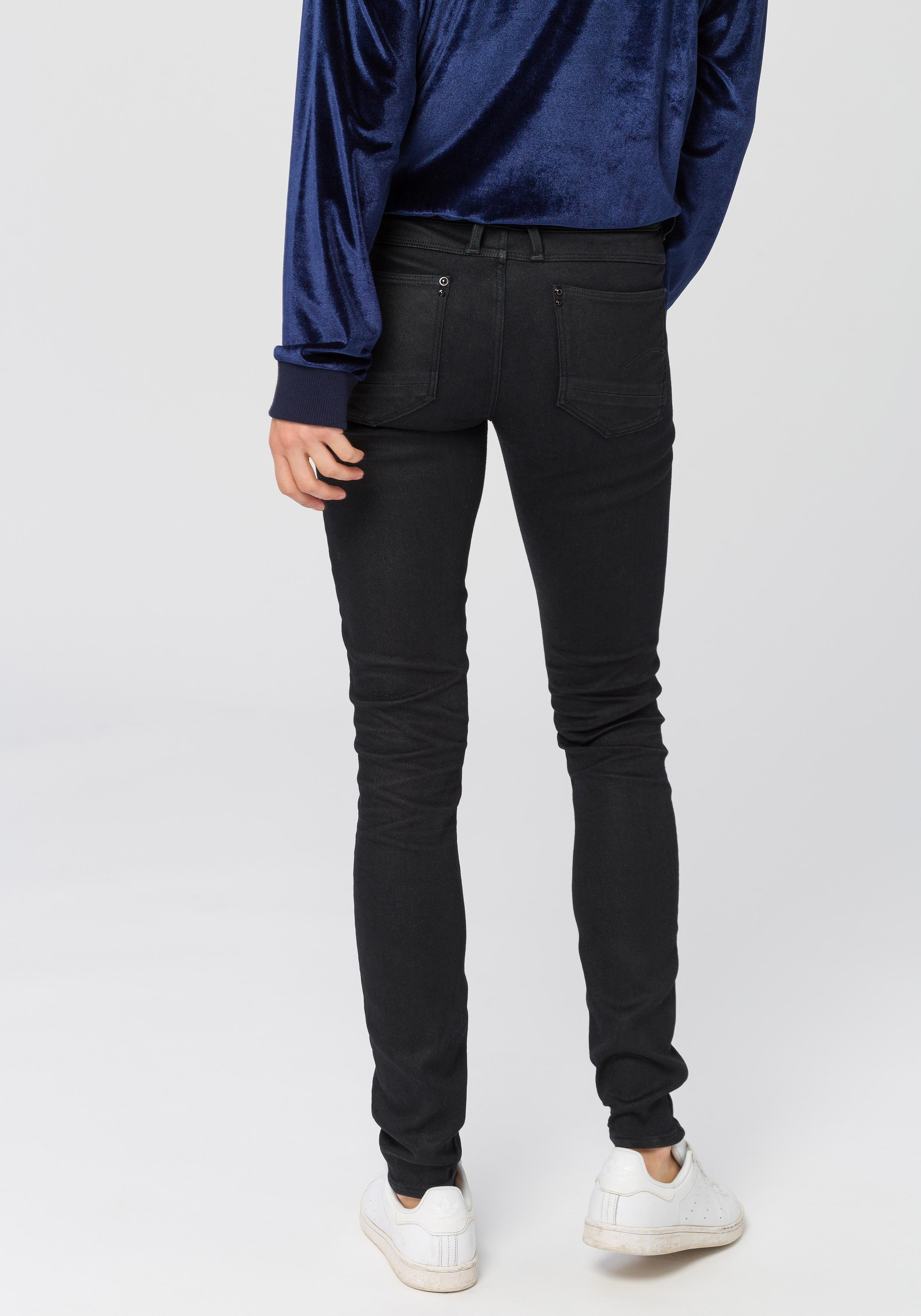 G-star Raw skinny fit jeans »Lynn Mid Skinny wmn NEW« in de webshop van OTTO kopen