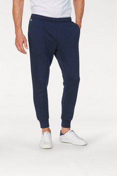 lacoste sweatbroek blau