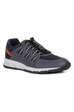 geox sneakers met speciale, gepatenteerde geox membraan grijs