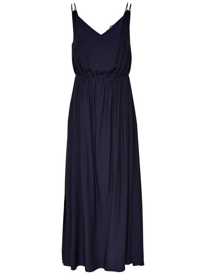 ONLY Gedetailleerde Maxi jurk blauw