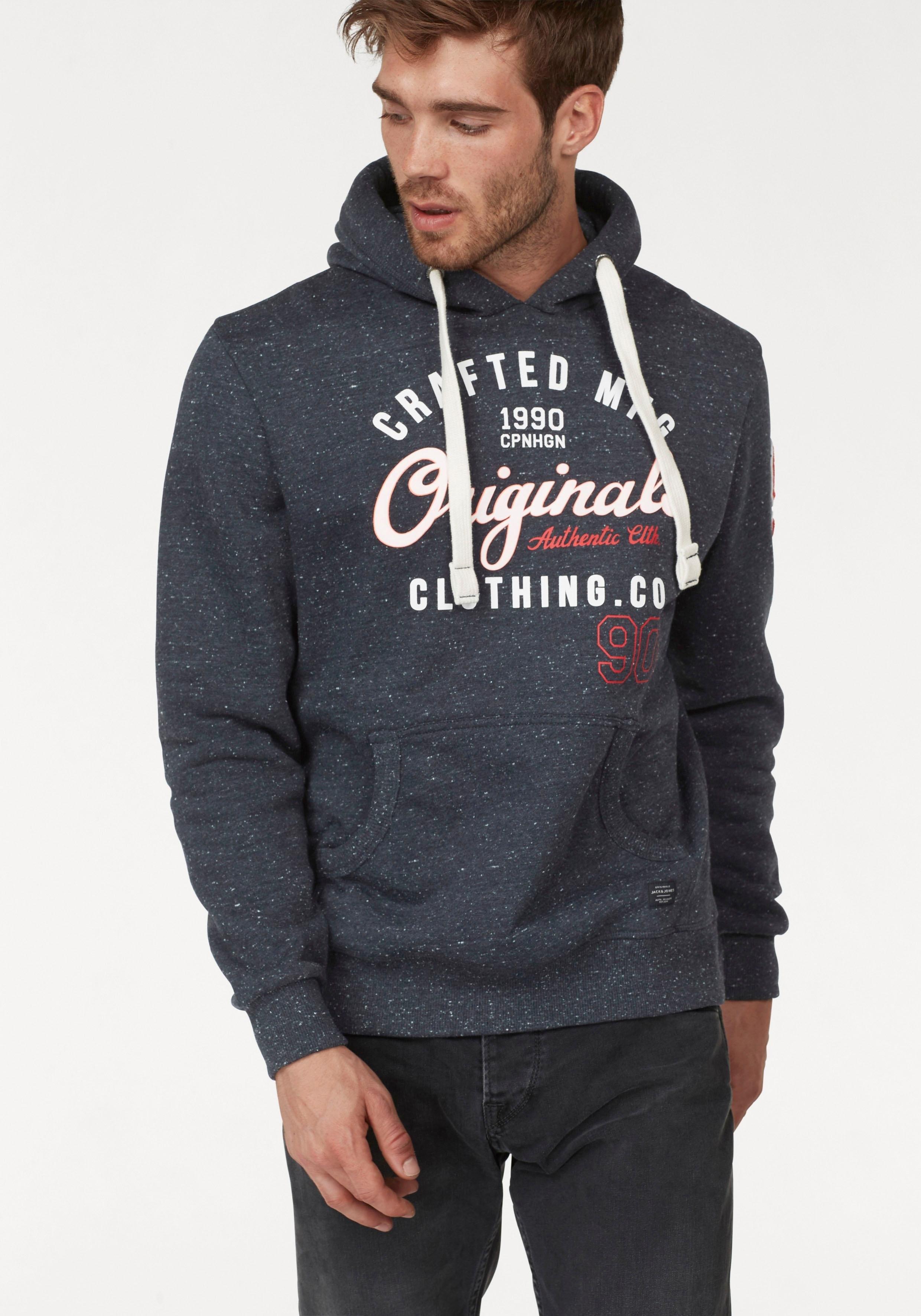 Jack & Jones hoodie »CHAMPS SWEAT HOOD« goedkoop op otto.nl kopen