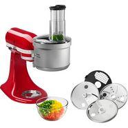 kitchenaid food-processor-opzet 5ksm2fpa, voor kitchenaid-keukenmachines (niet 5ksm7990x) zilver
