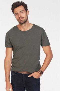 no excess shirt met ronde hals grijs
