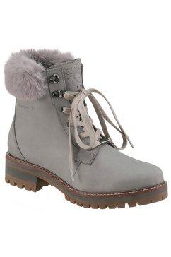 bugatti hoge veterschoenen grijs