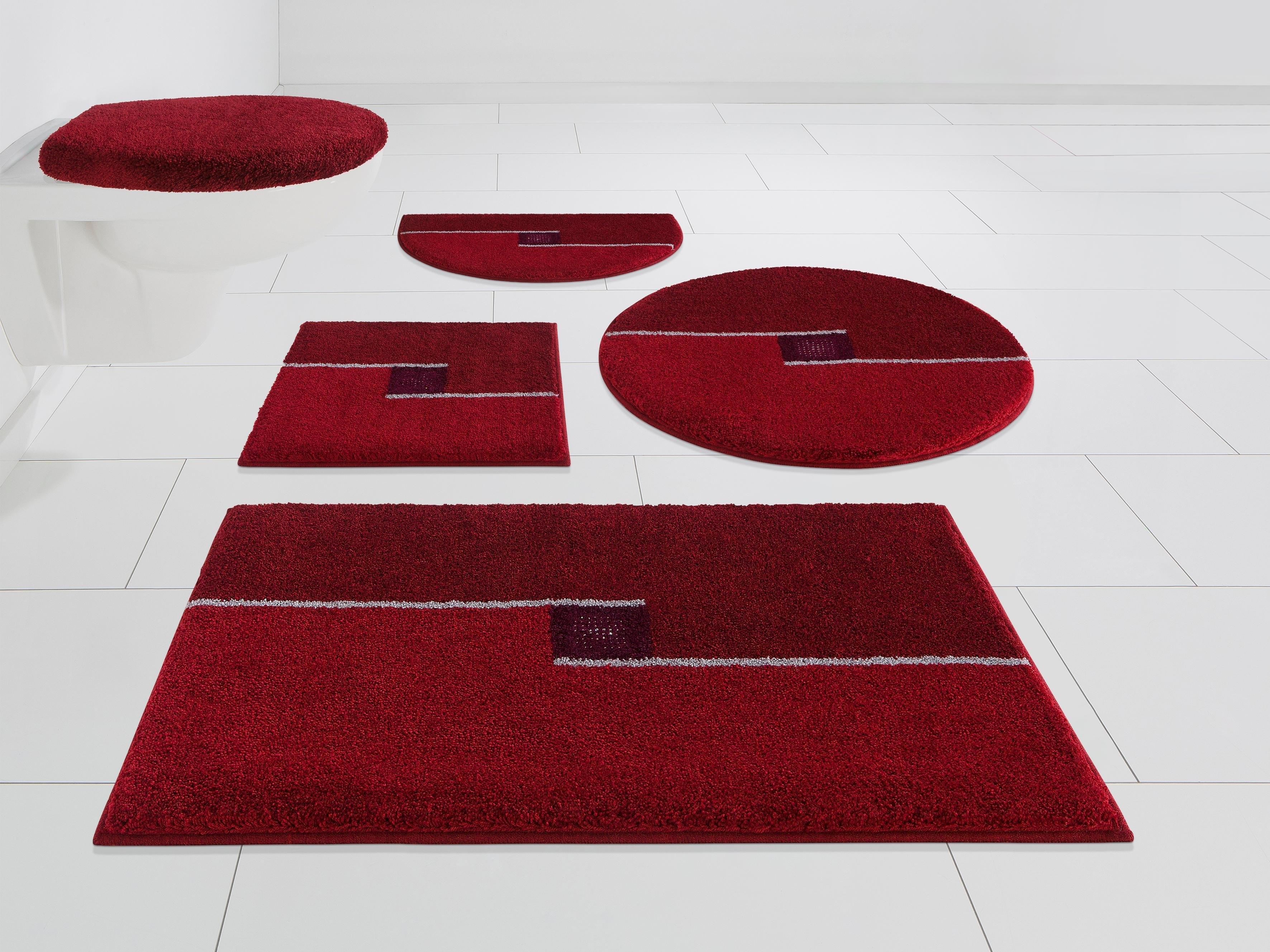 Grund Exklusiv Badmat »Crystal Touch«, 17 mm hoog, antislip-coating, geschikt voor vloerverwarming bestellen: 30 dagen bedenktijd