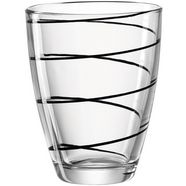 montana-glas glas 'jolly' (set van 6) zwart