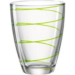 montana-glas glas 'jolly' (set van 6) groen