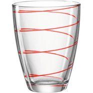 montana-glas glas jolly 6-delig (set, 6-delig) rood