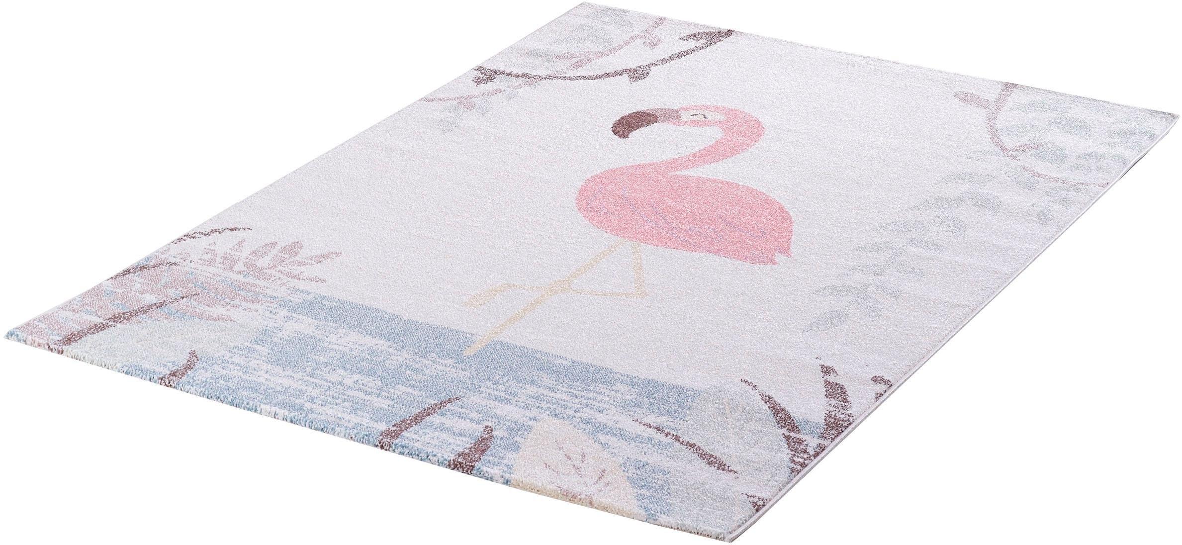 Sanat Teppiche Vloerkleed voor de kinderkamer, »Luna Kids 4610«, SANAT HALI, rechthoekig, H 12 mm, mach. geweven goedkoop op otto.nl kopen