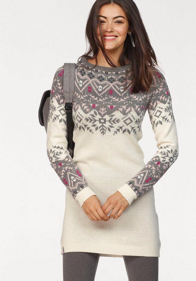 KangaROOS tricotjurk beige