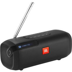 jbl tuner radio (bluetooth, digitale radio (dab+), fm-tuner met rds, 5 w) zwart