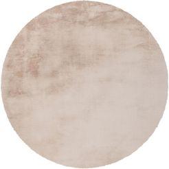 hoogpolig vloerkleed, »rabbit 100«, arte espina, rond, hoogte 45 mm, handgetuft beige