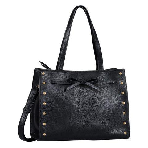TOM TAILOR Shopper Mary, schwarz / black, OneSize