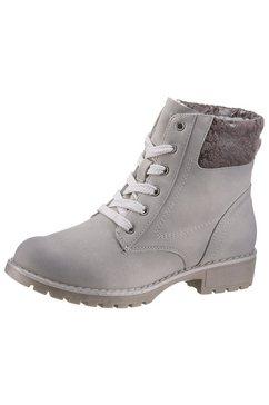 jana hoge veterschoenen grijs