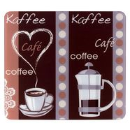 wenko snij- en afdekplank kaffeeduft los werkblad te gebruiken (1-delig) multicolor