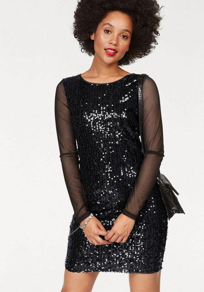 AJC jurk met pailletten zwart