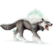 schleich speelfiguur 'eldrador, sneeuwwolf, 42452' multicolor