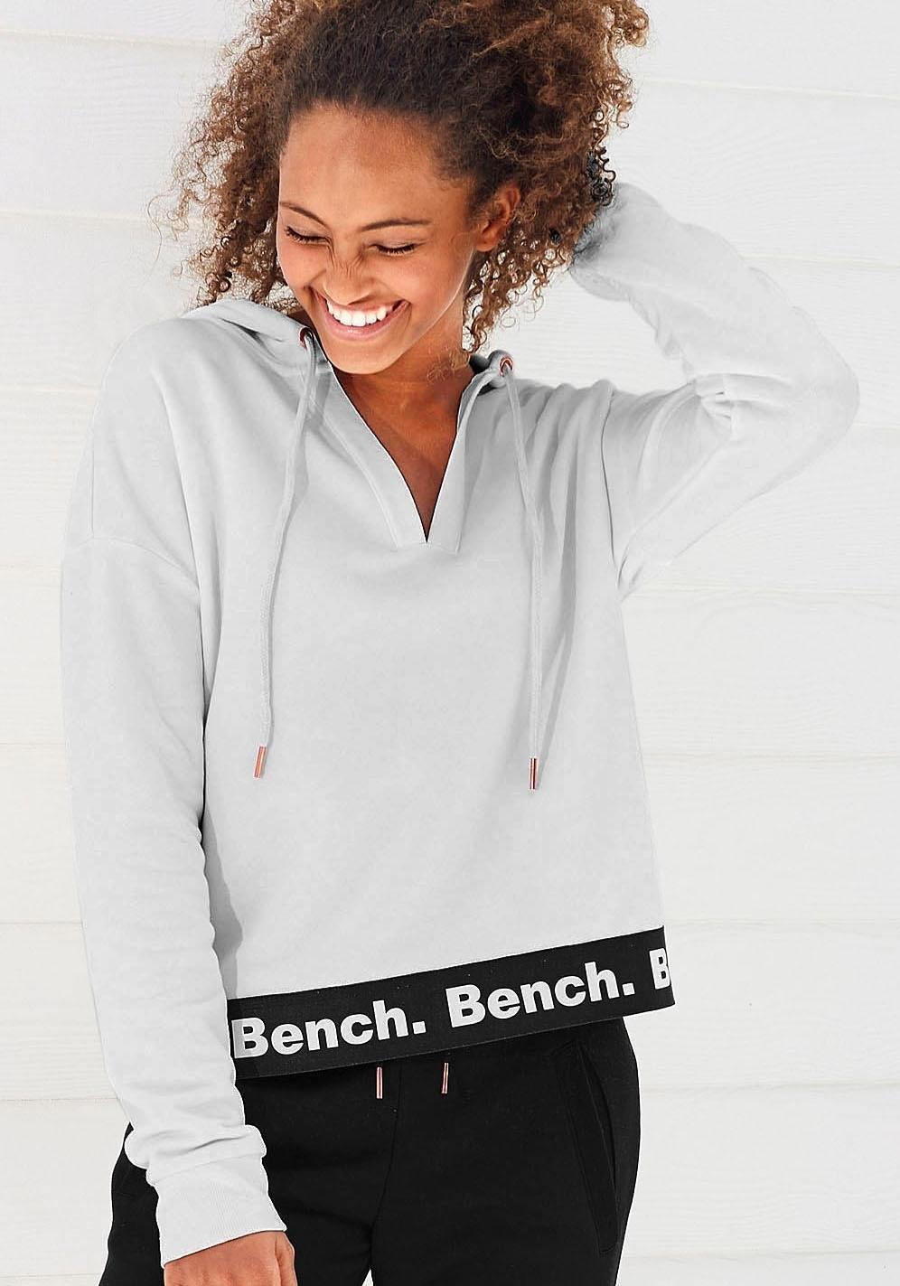 Een Online Iets Bestellen BenchCapuchonsweatshirt In Kortere Lengte 0X8nwOPk