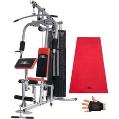fitnessstation, christopeit sport, 'sp 20 de luxe' zilver