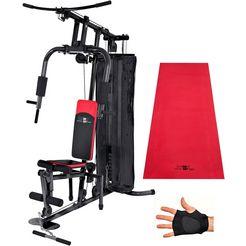 fitnessstation, christopeit sport, 'sp 10 de luxe' zwart