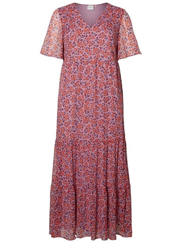 Junarose Maxi jurk paars