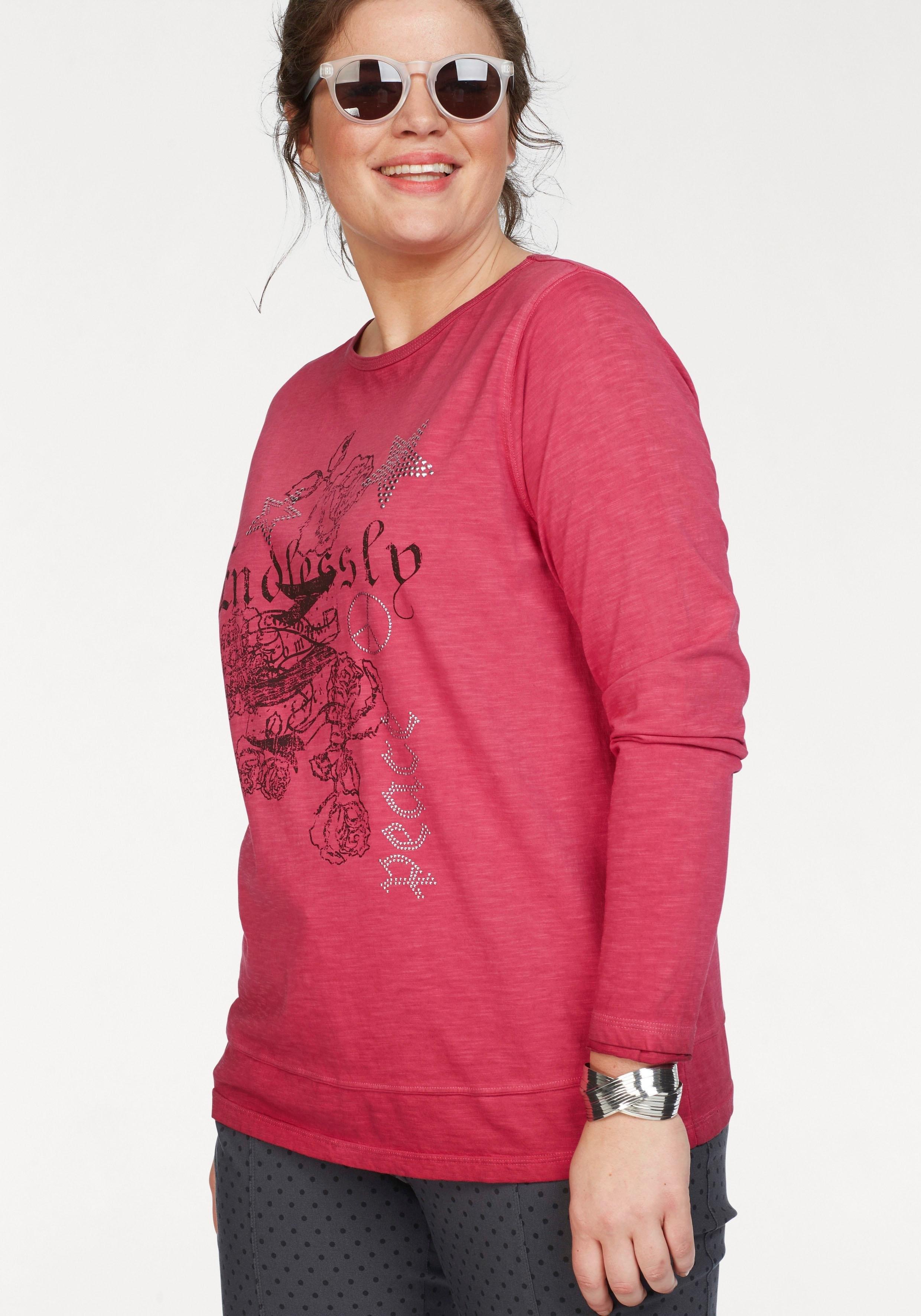 Print Shoppen Shirt Met Navigazione Più Online zMLUpVqSG