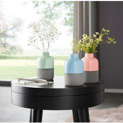 couch♥ decoratieve vaas (set van 3) multicolor