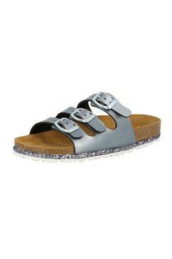 lico slippers »pantolette bioline sensation« grijs
