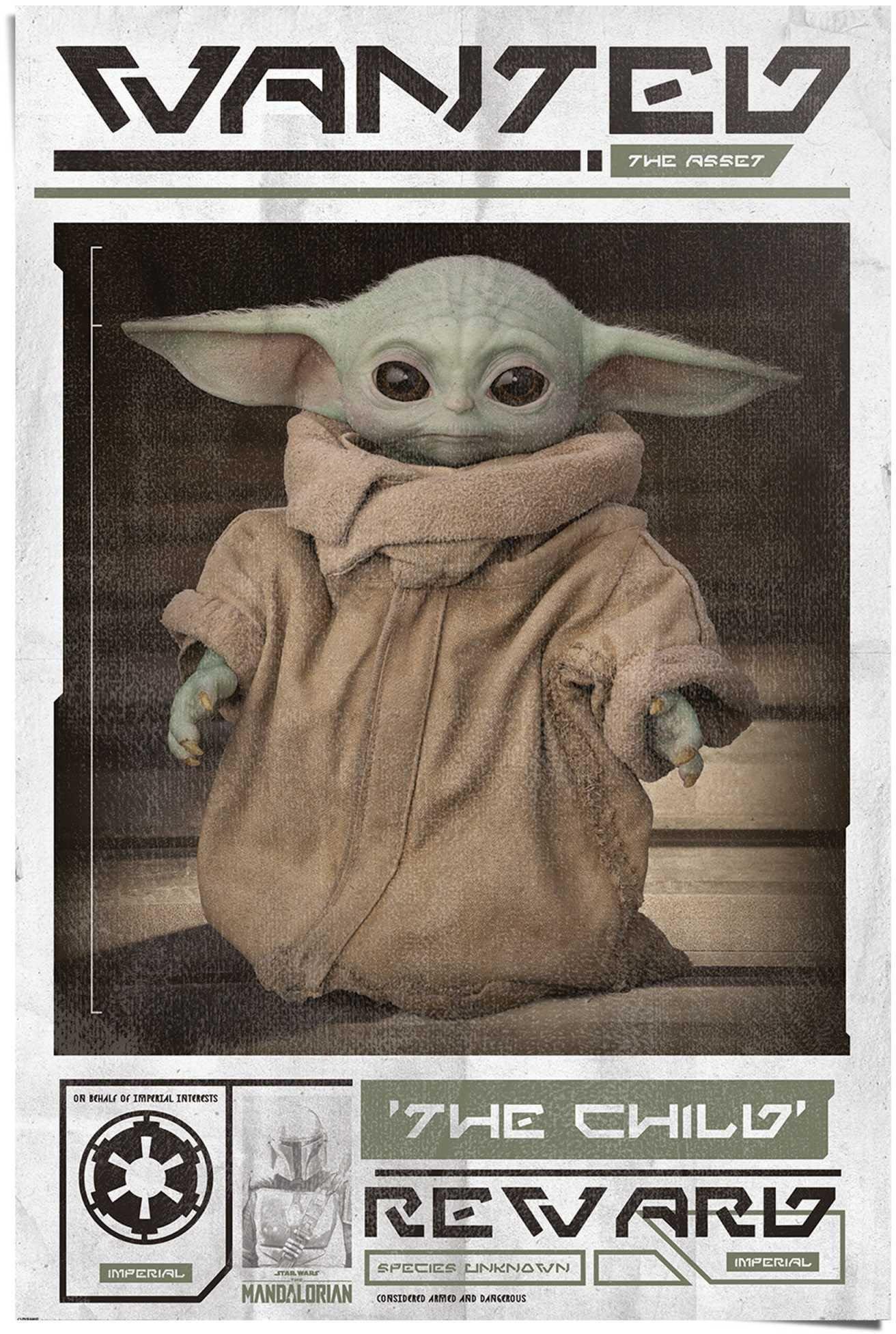 Reinders! poster Mandalorian baby Yoda The Child (1 stuk) veilig op otto.nl kopen