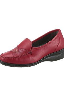 airsoft mocassins met verwisselbaar voetbed rood