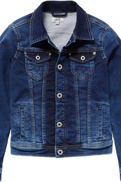 pepe jeans jeansjack »new berry« blauw