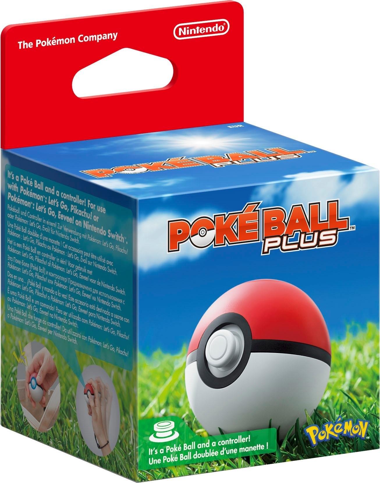 Nintendo Switch Controller »Pokéball Plus« - verschillende betaalmethodes