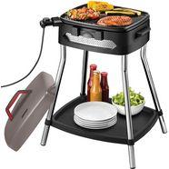 unold grill barbecue power grill 58580, 2000 watt zwart