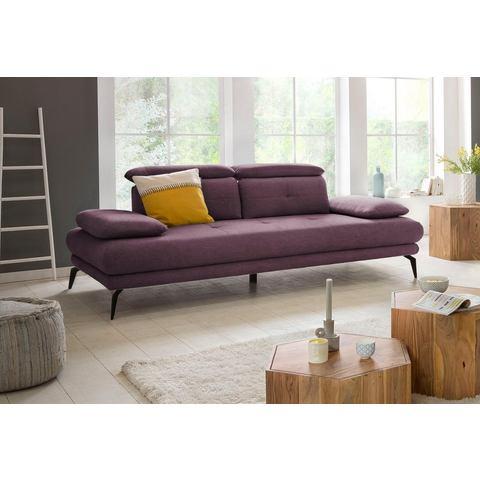 Places of Style 2-zitsbank SUN inclusief verstelbare rug- en armleuningen