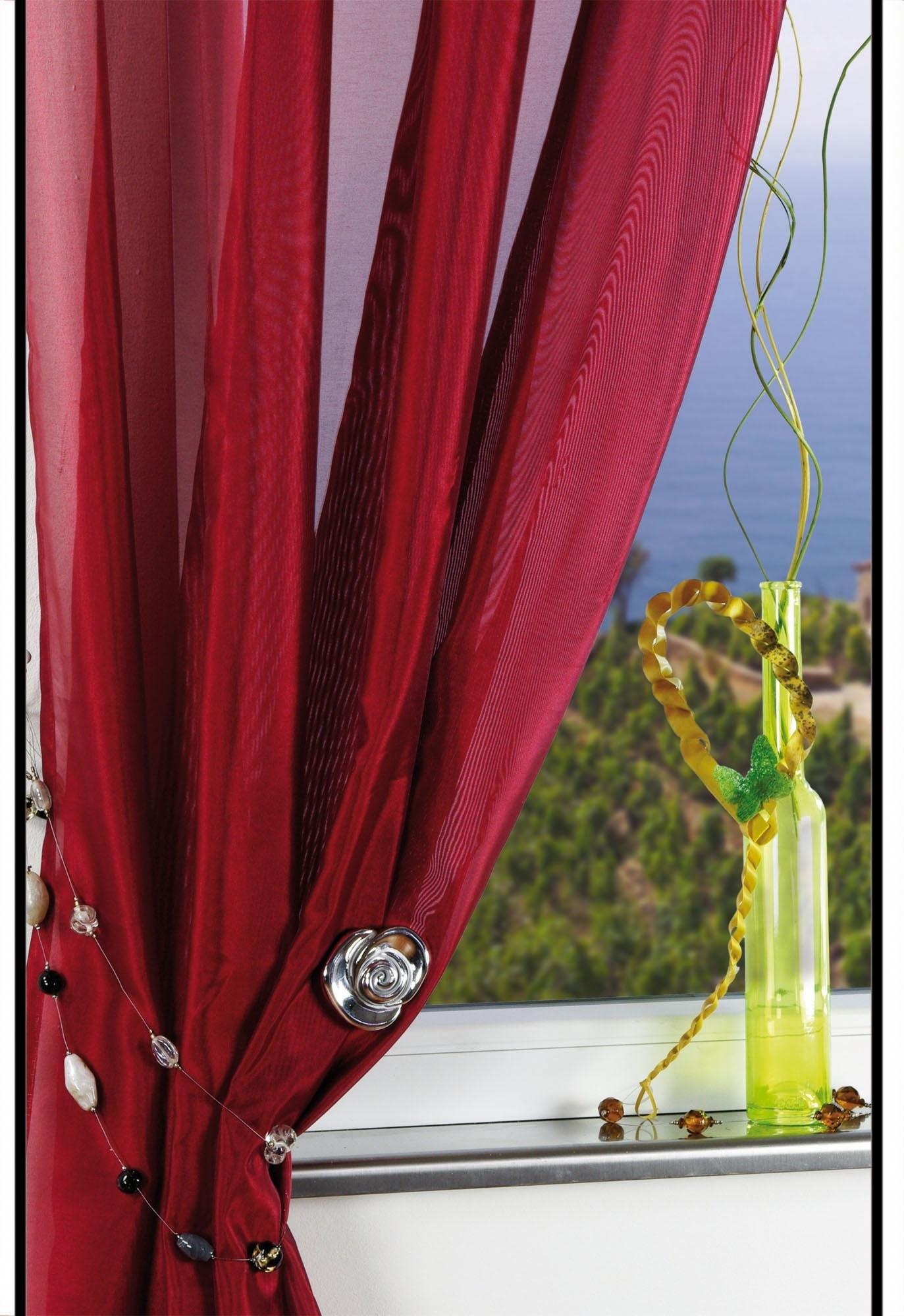sierketting liedeco granit ter decoratie van gordijnen en vitrages per