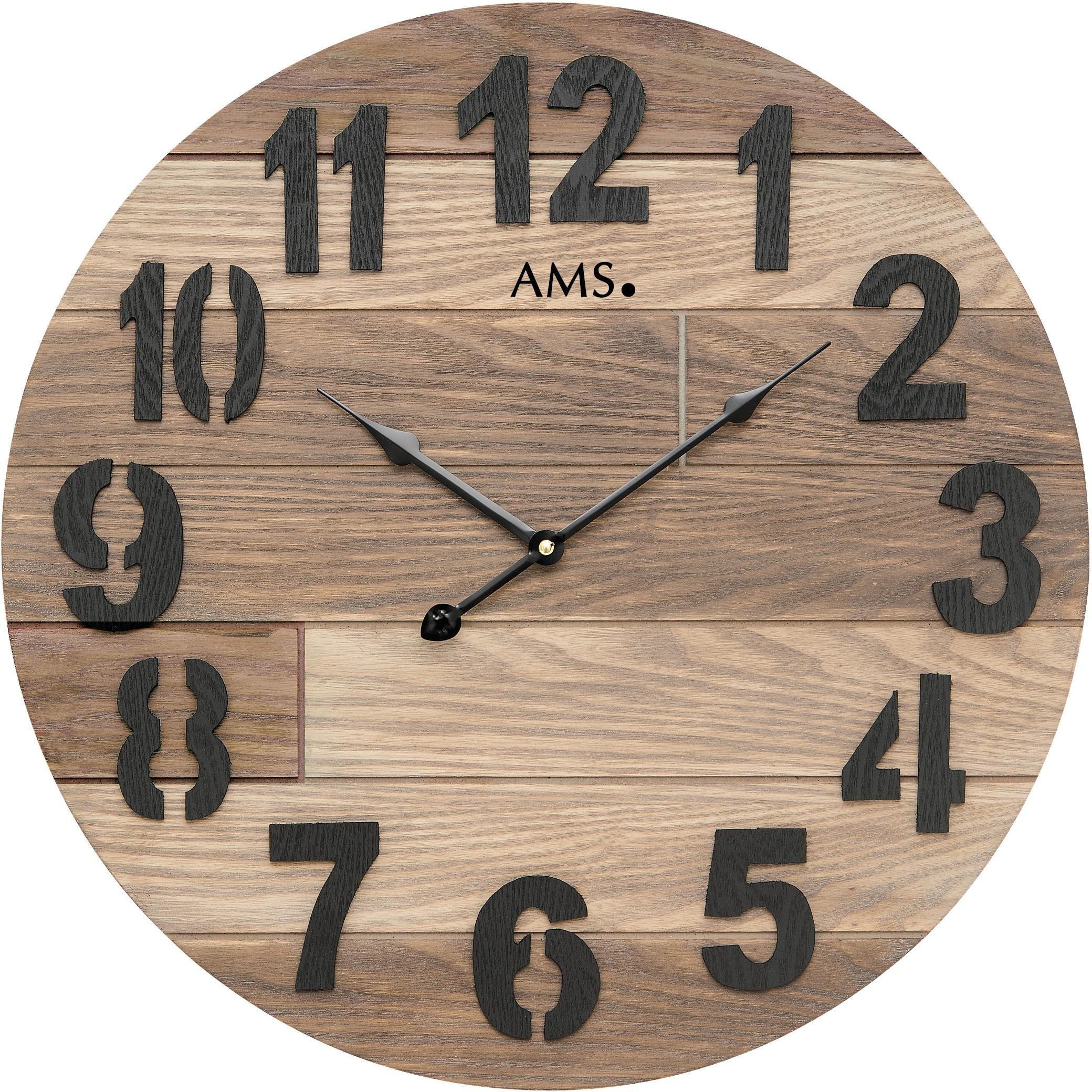 AMS wandklok »W9569« bestellen: 30 dagen bedenktijd
