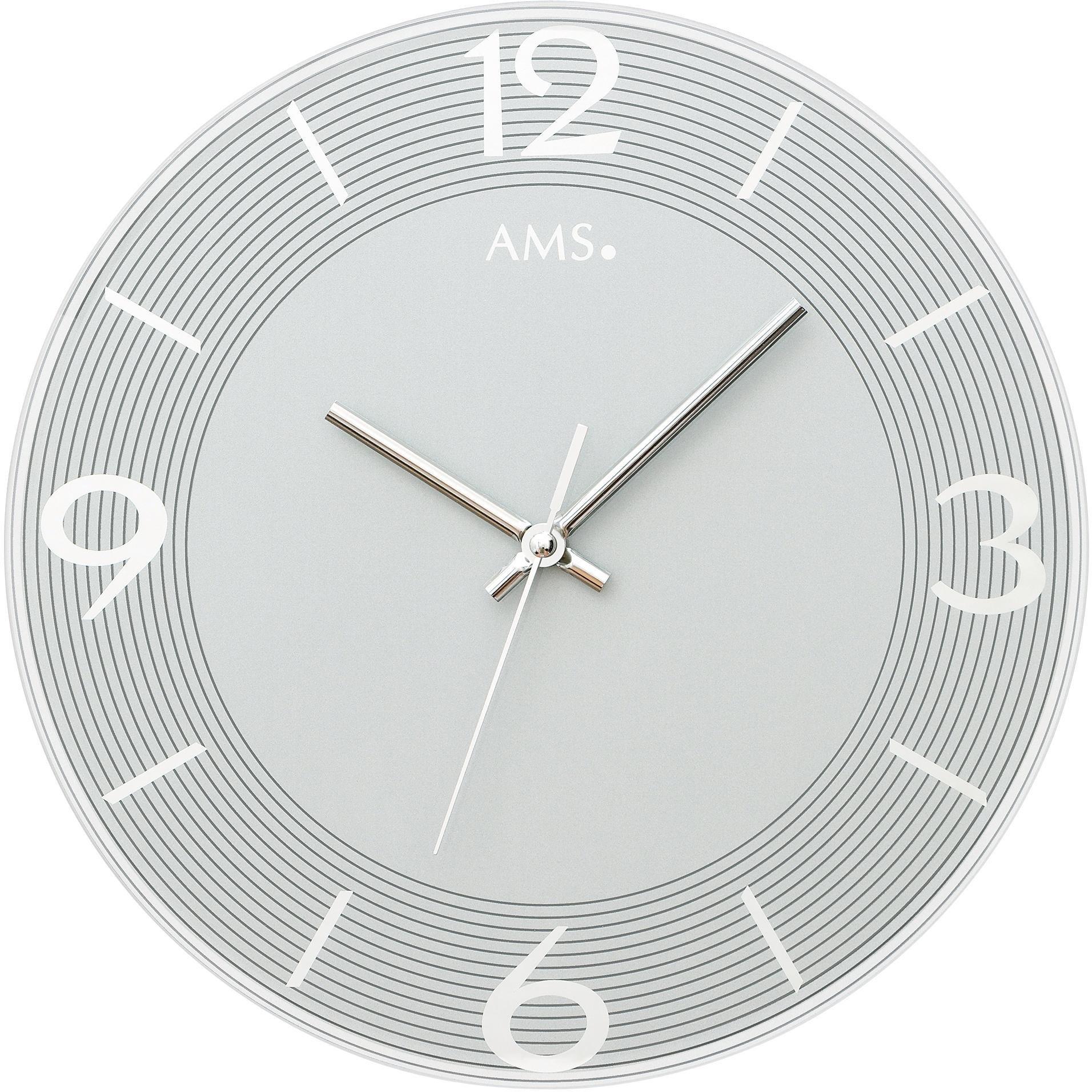 AMS wandklok »W9571« online kopen op otto.nl