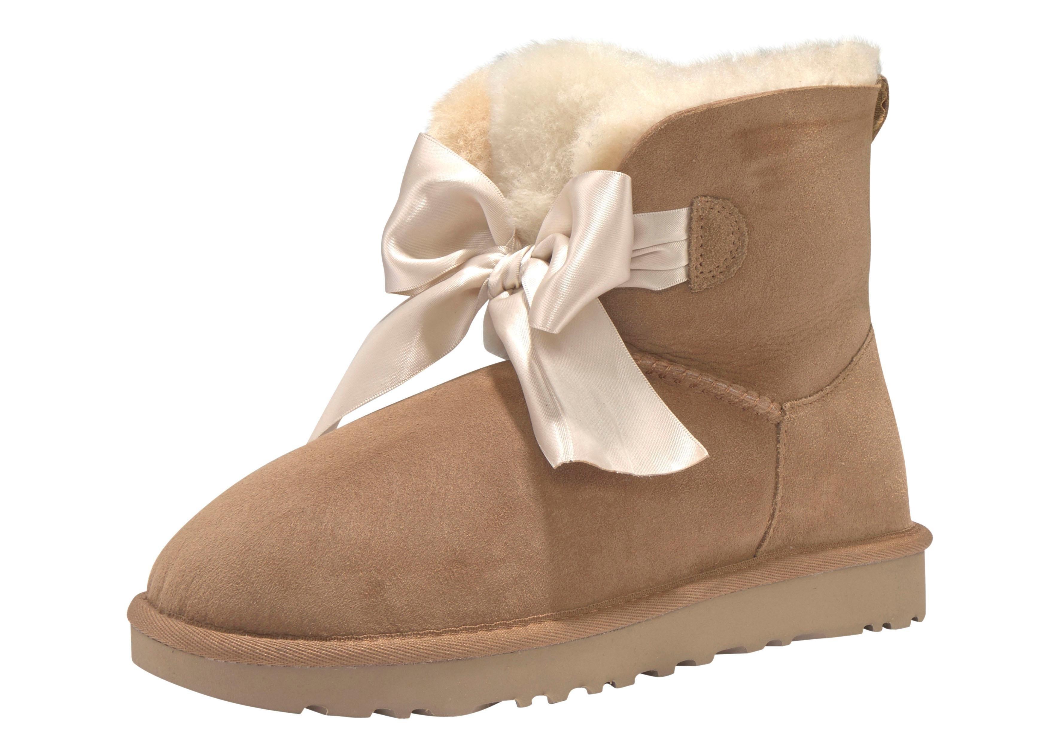 Ugg boots zonder sluiting »Gita Bow Mini« nu online bestellen