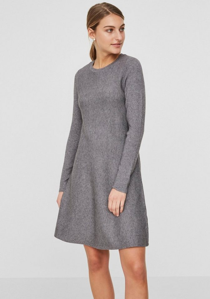 Vero Moda tricotjurk NANCY grijs