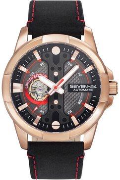 seven-24 automatisch horloge »racer, sv3102jsr-02« zwart