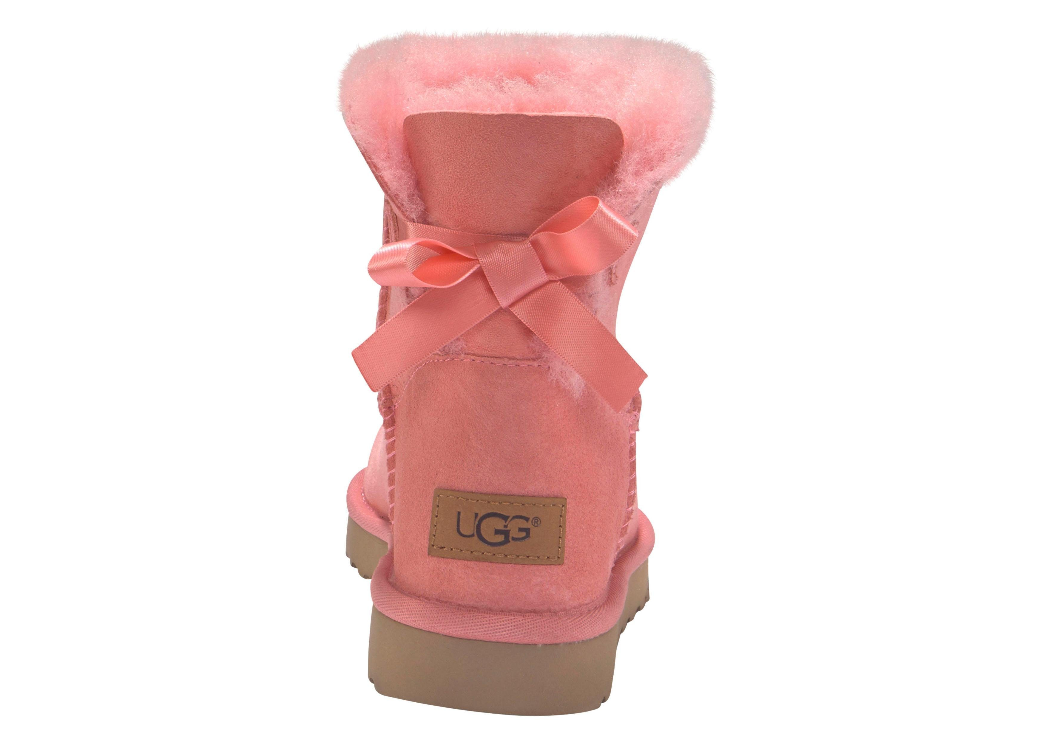 mini« boots bow zonder »satin ugg sluiting oranje fFwPWp7xqx